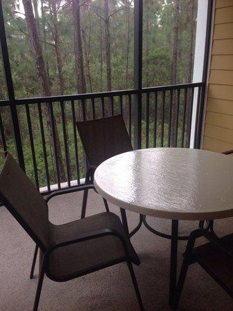 Caribe Cove Resort Orlando: Balcony (apt 204, building 3)