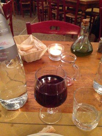 Osteria i Santi: Tavolo