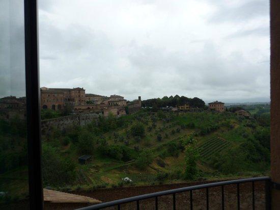 Hotel Athena: вид на холмы