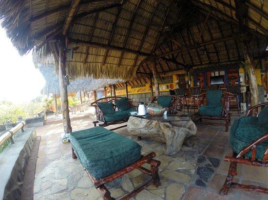Hacienda Puerta Del Cielo Eco Spa: One of the sitting areas