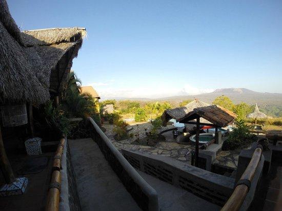 Hacienda Puerta Del Cielo Eco Spa: View from deck 2
