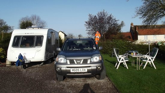 The Old Oaks Touring Park: Our pitch