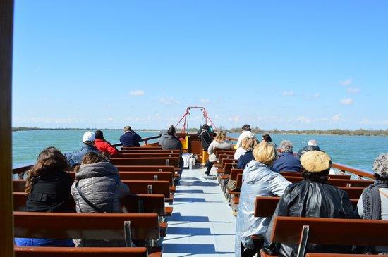 Tiki 3 : pont du bateau