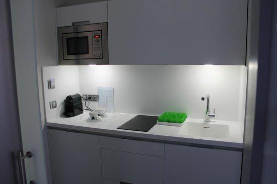 Salamanca Suite Studios: Entrada/Cocina