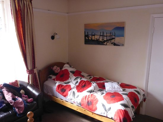 Elim Lodge: Single Bed in The Family Room