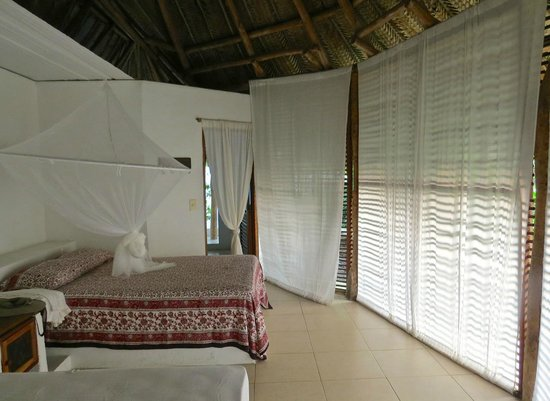 Palomino, Kolumbien: Light, airy yet private bedrooms