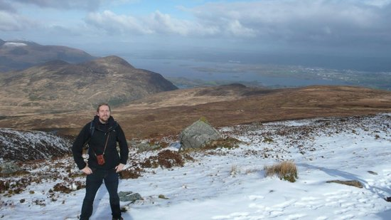 Parc national de Killarney : a bit of snow left in march...