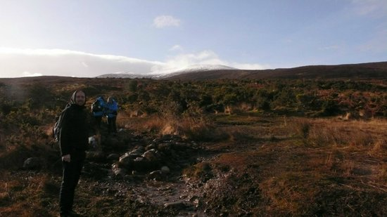 Parque Nacional de Killarney: start of the climb