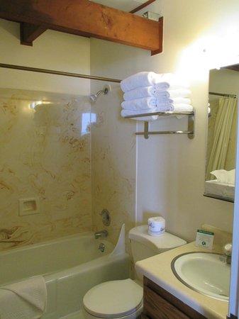 Crescent Beach Motel: Bathroom