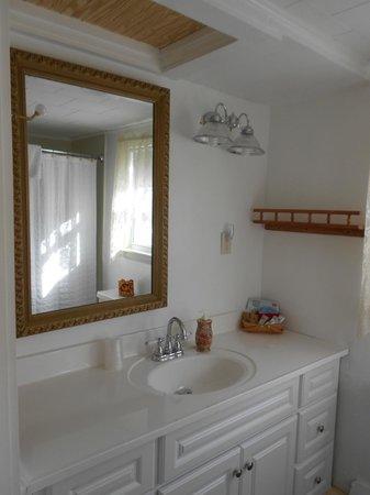 Eastman Inn : Room 14 Newly remodeled Bathroom