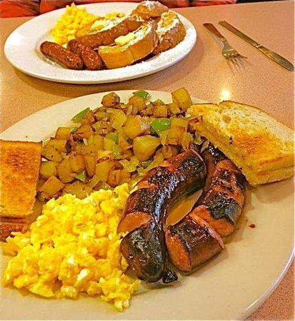 Penny's Diner : Kilbasa breakfast special