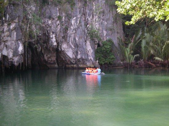 Puerto Princesa Underground River : начало экскурсии по реке