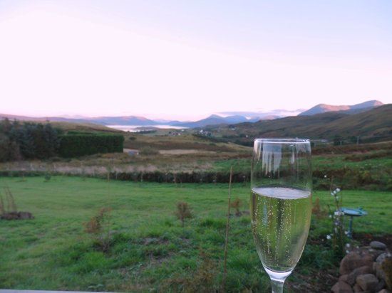 Rowan Tree Cottage : Your view from the front yard of Rowen Tree Cottage