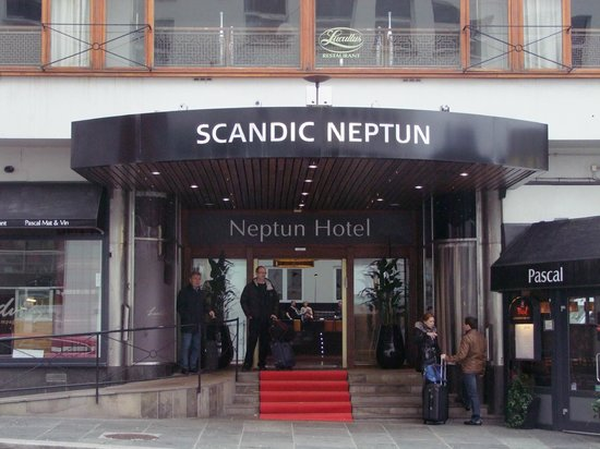 Scandic Neptun : Entry