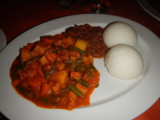 The Diplomatic Bar & Restaurant Pty: Vegetarian Curry