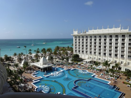 Hotel Riu Palace Aruba: View from 7th floor