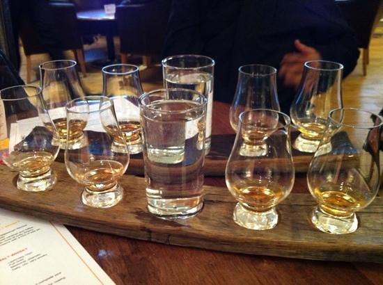 The Scotch Whisky Experience: degustacao de whisky