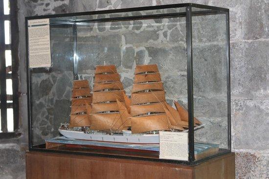 Long cours et Cap Horniers (tour Solidor) : maquette