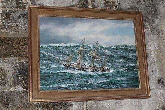 Long cours et Cap Horniers (tour Solidor) : peinture