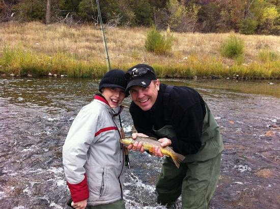 Utah Pro Fly Fishing Tours : A day fishing with my son!