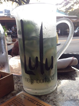 Lulu: Refreshing Mojito pitcher for beautiful sunny afternoon!