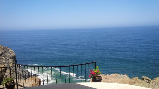 Arriba de la Roca : Endless view of the Pacific from the top
