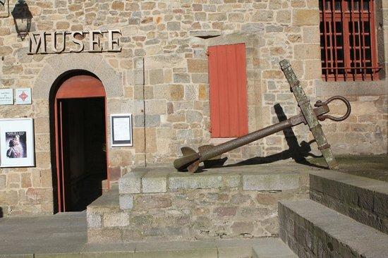 Musée d'Histoire de la ville et du pays malouin : entrée