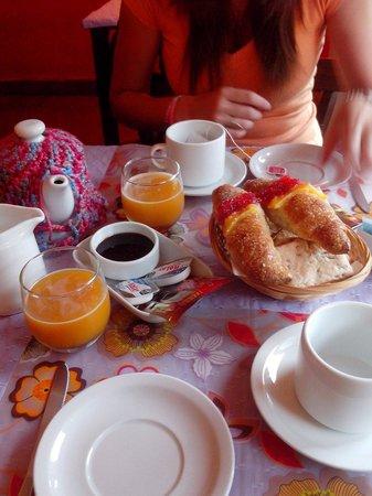 Draig Las Inn: Desayuno