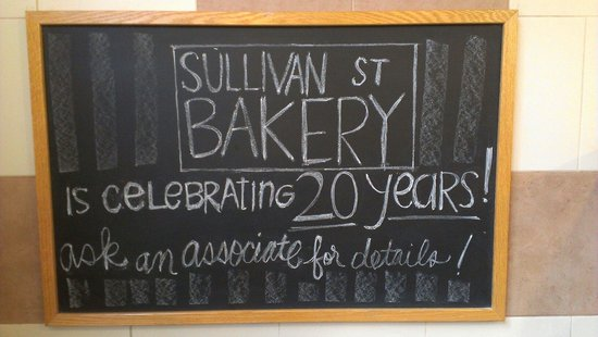 Sullivan Street Bakery: Happy Birthday!