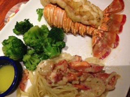 Red Lobster: Prato com lagosta