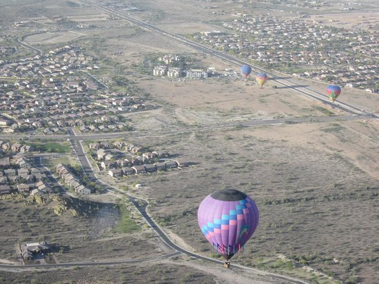 Hot Air Expeditions: view from ride