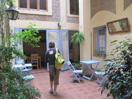 La Querencia de Buenos Aires: patio et petite salle mise à disposition