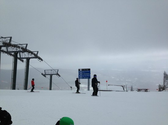 Green Mountain Inn: Skiing at Stowe