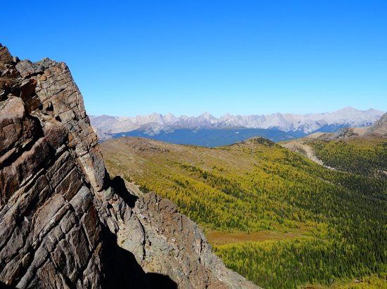 Shadow Lake Lodge: On top of the world!