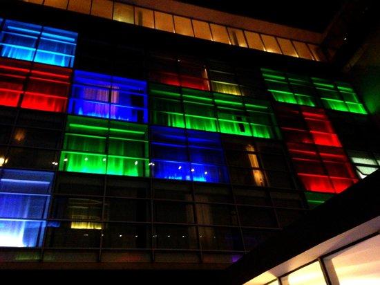 Radisson Blu es. Hotel, Roma : Courtyard by night