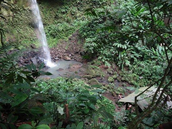 Huaorani Ecolodge: the sacred Wao waterfall