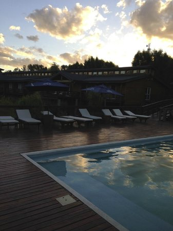 Delta Eco Hotel: Pool area