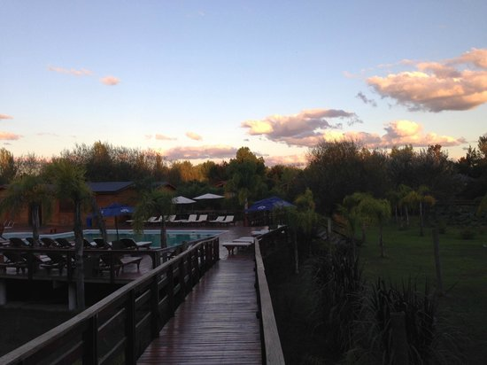 Delta Eco Hotel: beautiful sunset
