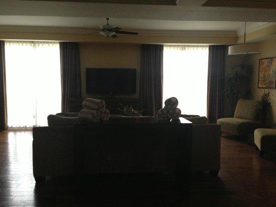 Bluegreen Fountains Resort: Foyer/Family Area