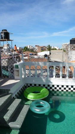 Rivera del Rio : view from rooftop pool