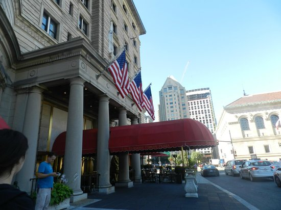 Fairmont Copley Plaza, Boston: Outside view