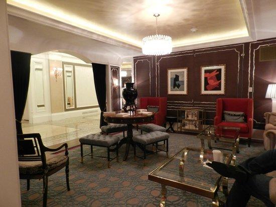 Fairmont Copley Plaza, Boston: cute hotel lobby