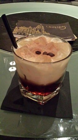 Grand Central Hotel: Hazelnut russian. Fantastic.