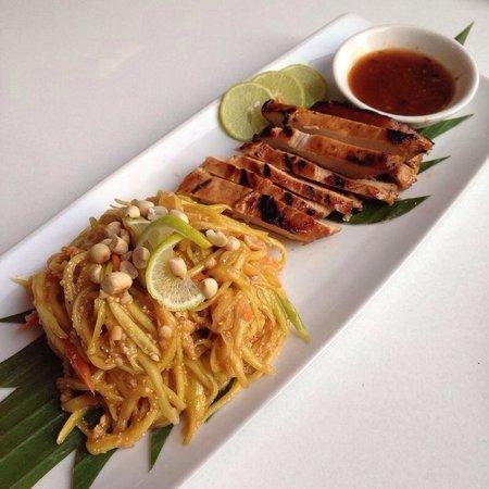 Ubon: Green mango salad