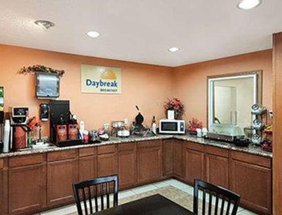 Days Inn Racine/Sturtevant: Breakfast Area