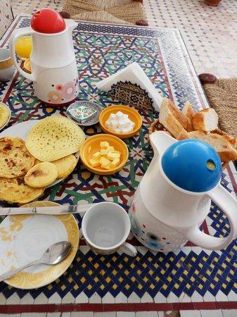 Riad La Bague de Kenza : colazione