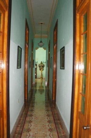 Hosteria Cartacuba: corridor