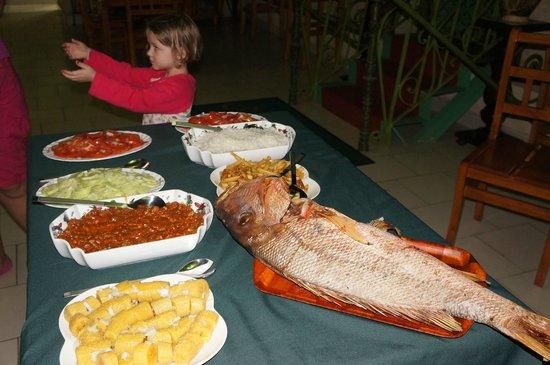 Hosteria Cartacuba: repas poisson