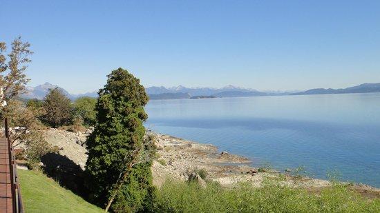 Alma del Lago Suites & Spa: Vista desde la terraza del desayunador