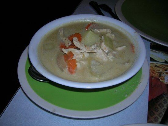 Songkran Thai Restaurant: Coconut Soup (do not recall name)